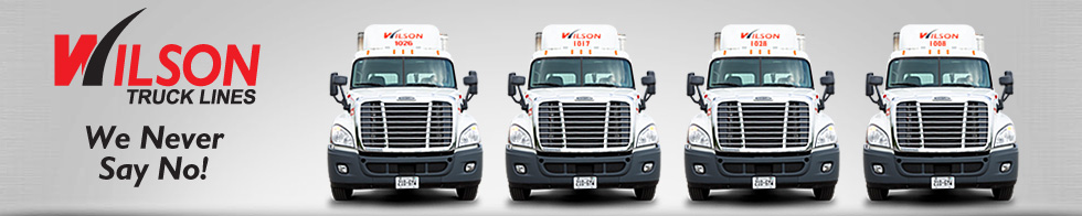 Wilson's Truck Lines food distribution and freight transportation services in Toronto (GTA), Ontario, Canada